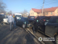 На виїзді з Чернівців зіткнулись дві