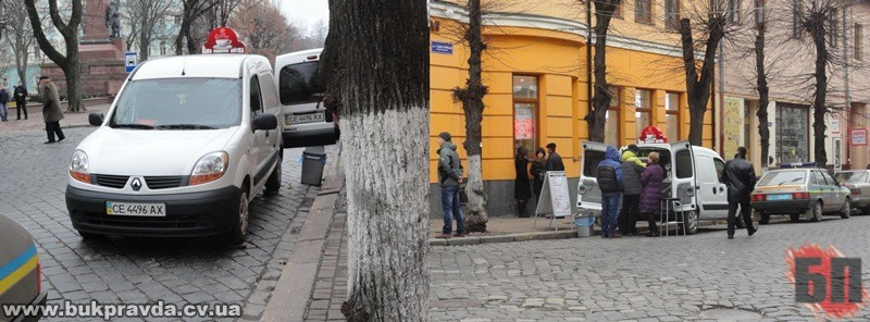 Перехрестя Героїв Майдану-площа Соборна