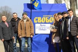 Депутати-свободівці Кіцманського району прозвітували перед виборцями та провели прийом громадян (фото)