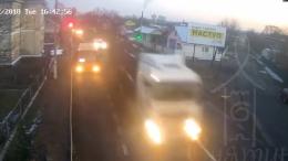 Поліція влаштувала погоню з вантажівкою, що перевозила ліс (відео)