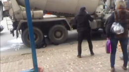 У Чернівцях пішохід загинув під колесами бетоновоза