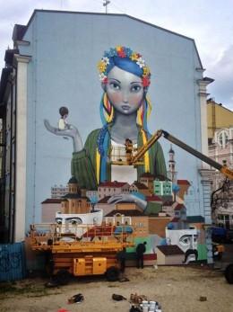 У Чернівцях хочуть розфарбувати житлові будинки у стилі графіті