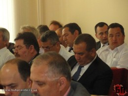 Василь Козак на сесії облради