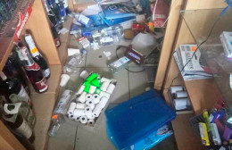 На Буковині поліція затримала зловмисника, що обікрав крамницю на 54 тисячі гривень (фото)
