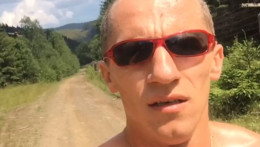 Іван Гешко вибіг на буковинський Томнатик майже за годину