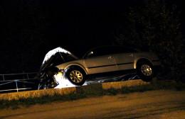 """На Буковині біля перехрестя зіткнулись два """"Фольксвагена"""" (фото)"""