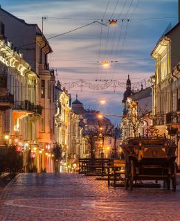 Чернівецька вулиця Кобилянської потрапила до рейтингу найгарніших в Україні