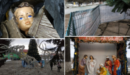 Знайшли хуліганів, які пошкодили Різдвяний вертеп у Заставні
