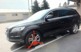Автомобіль, що знаходився у міжнародному розшуку, виявили на кордоні з Румунією (фото)