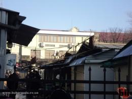 Пожежа на ринку «Центральний» у Чернівцях завдала збитків на півмільйона гривень