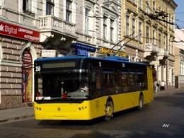 Тролейбус у Чернівцях