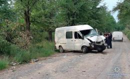 """На Буковині """"Фольксваген"""" врізався у дерево, постраждали водій і пасажирка"""