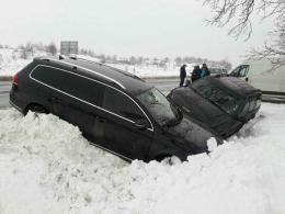 На Буковині зіткнулися дві автівки, є потерпілі (фото)