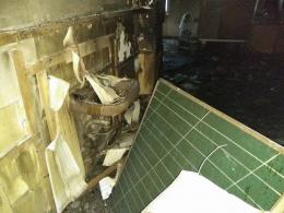 У Чернівцях комісія не змогла встановити точну причину пожежі у школі №11
