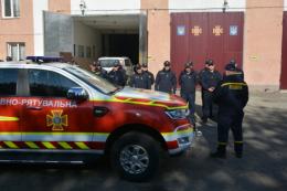 """Чернівецькі рятувальники отримали новий автомобіль """"Ford Ranger"""""""