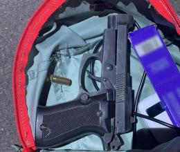 На Буковині поліцейські виявили у підлітка пістолет з набоями