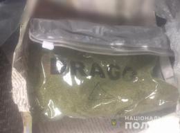 У буковинки поліцейські вилучили пакет із 20 грамами канабісу