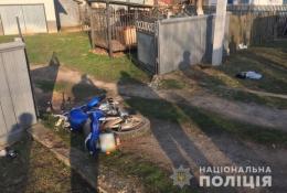 На Буковині мотоцикліст врізався в стовп та загинув на місці