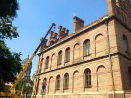 У ЧНУ триває реставрація даху (фото)