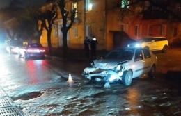 У Чернівцях водій не пригальмував і врізався в автівку на перехресті