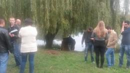 На Комарова біля озера знайшли тіло чоловіка (фото)