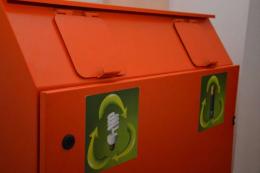 У Чернівцях з'явилися еко-бокси для збирання люмінесцентних ламп