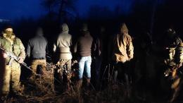 На Буковині прикордонники затримали п'ятьох буковинців