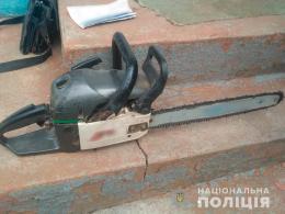 На Буковині поліцейські швидко розшукали крадія бензопили