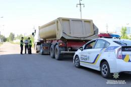 У Чернівцях патрульні за два дні оштрафували 16 водіїв вантажівок