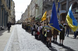 Чернівецькі пластуни відзначили День Першої Пластової Присяги (фото)