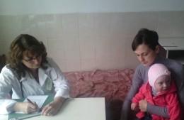 Лікарі оглянули дітей з вродженими вадами розвитку