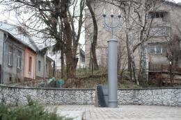 Сквер на розі Руської та Шевченка у Чернівцях