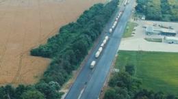 В Укравтодорі показали, як відремонтували дорогу на Буковині до Румунії