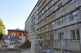 Будівельники показали, як ремонтують перинатальний центр у Чернівцях (фото)