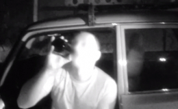 У Чернівцях затримали агресивного водія, який провокував патрульних, розпиваючи перед ними пиво (відео)