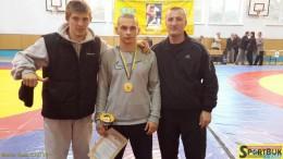 Чернівчанин став чемпіоном України з вільної боротьби