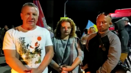 Протестувальники з Хотина записали звернення Президентові через слова про проплачені пікети (відео)