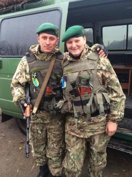 Подружжя прикордонників з Чернівецького загону служать в зон АТО