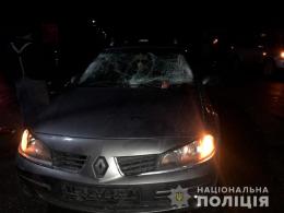 20-річний водій легковика «Renault Laguna» на Буковині наїхав на двох неповнолітніх (фото)