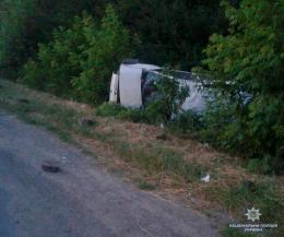 На Буковині на швидкості перекинувся «Фіат», загинув водій (фото)