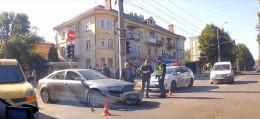 У Чернівцях на Садовій сталася ДТП