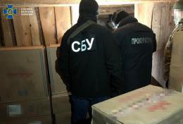 На Буковині СБУ викрила партію підроблених цигарок на 800 тисяч гривень