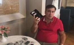 Міхеіл Саакашвілі заявив, що його хотіли прослуховувати у готелі в Чернівцях (фото+відео)