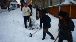 За несвоєчасне прибирання території від снігу підприємців штрафуватимуть
