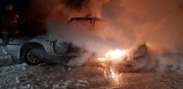 У Чернівецькій області в Анадолах згоріли «Жигулі»