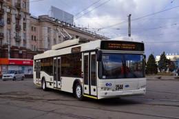 Чернівці збираються придбати кілька нових тролейбусів