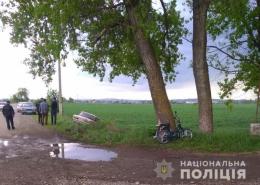 На Буковині «Жигулі» зіткнулися із мопедом, одна людина травмована