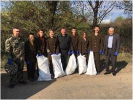 Працівники Хотинського лісгоспу ліквідували 25 несанкціонованих смітників