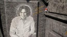 Портрет співака використовує бізнесмен з Чернівців