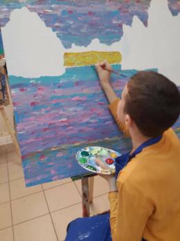 Картини юного буковинця Данила Гулько поїдуть на виставку в Італію (фото)